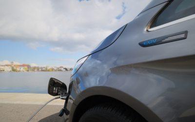 Elektrischer Chauffeurservice